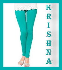 TURQUOISE COLOUR ( XXXL : XXL : XL : L : M : S ) ALL SIZES LEGGINGS AVAILABLE