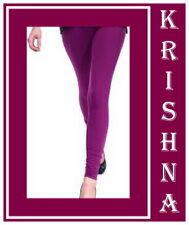 PURPLE COLOUR ( XXXL : XXL : XL : L : M : S ) ALL SIZES LEGGINGS AVAILABLE