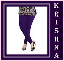 BRINJAL COLOUR ( XXXL : XXL : XL : L : M : S ) ALL SIZES LEGGINGS AVAILABLE