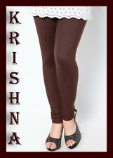 CHOCOLATE BROWN ( XXXL : XXL : XL : L : M : S ) ALL SIZES LEGGINGS AVAILABLE