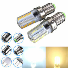 Dimmable E14 3W White/Warm White 3014SMD LED Bulb Silicone 220-240V