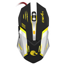 HXSJ 5000DPI 6 Buttons 7 Color Effect Optical Gaming Mouse Adjustable DPI for PC