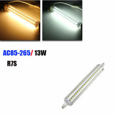Dimmable R7S 189mm 13W 144 SMD 2835 LED Warm White Pure White Light Lamp Bulb AC