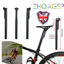 T800 Ultralight 3K Full Carbon Fiber Road MTB Bike Seatpost Seat Tube Post New