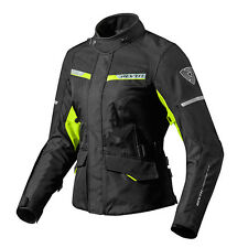 REV'IT! OUTBACK 2 FEMMES MOTO VESTE NOIR NEON JAUNE REV IT revit