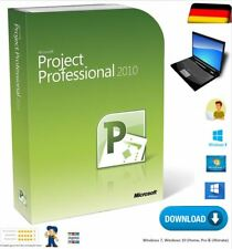 Vollversion Microsoft Project 2010 Professional 1 PC 32/64 Bit Download DVD
