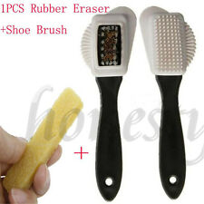 2 Sides Cleaning Brush Rubber Eraser  for Suede Nubuck Shoes Boot Cleaner New