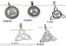 COLGANTES EMBRUJADAS TRIQUETA PLATA DE LEY 925 ML SILVER STERLING HANGING WITCH