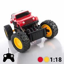 Monster Truck Toy  Remote Control Off-Road Buggy Car 4 Wheel & Brake Drive Fun