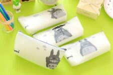 New Anime Studio Ghibli My Neighbour Totoro Silicone Pencil Case White