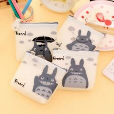 New Anime Studio Ghibli My Neighbour Totoro Silicone Purse White