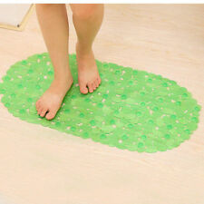 BATH MAT BATHROOM ANTI NON SLIP SUCTION CUPS SHOWER ROOM SAFETY  PVC SHOWER MAT
