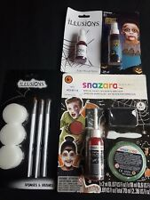 Halloween Accessories - Fake Blood Spray, Make Up Kit, Snazaroo Secial FX Kit