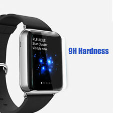 iWatch Clear Tempered Glass Screen Protector + Soft Gray Case 38MM Series 1 / 2