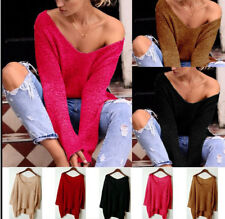 New Sale Women Bright Colored Long Sleeve Pocket T-Shirt Cotton Boat Neck Blouse