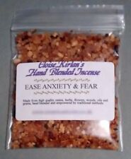 EASE ANXIETY and FEAR Hand Blended Grain Incense