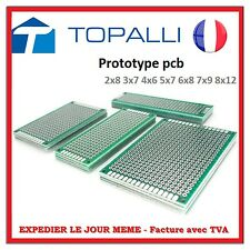 Placa PCB Prototipo Doble cara 5x7 cm doble Lateral Panel PCB DIY PROTOTIPO