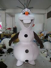 Mascot Mascotte OLAF La reine des Neiges Frozen Costume Cosplay Adult Halloween