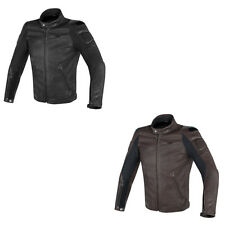 DAINESE STREET oscurante MOTO perforati Giacca in pelle