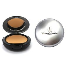 VK London Compact Powder Foundation Cream Pressed Flawless Finish Cruelty Free