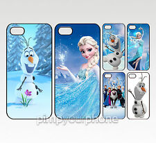 Disney Frozen Elsa Olaf IPHONE 4 4S 5 5S 5C 6 RIGIDA CUSTODIA COVER