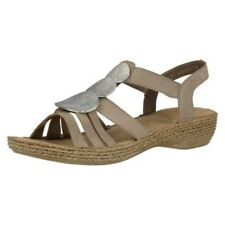 Ladies Rieker Slingback Sandals 65862