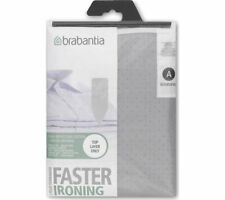 BRABANTIA Metalised Silver Ironing Board Cover Size A B D E