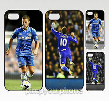 EDEN HAZARD CHELSEA FC iPhone 4 4S 5 5S 5C 6 6 PLUS RIGIDA CUSTODIA COVER