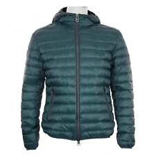Colmar Mens Hooded Quilted Down Puffer Jacket (Blue)