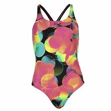 Speedo Womens Ladies Colourbeat All Over Print Swimming Costume Swimsuit