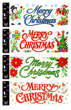 Long Christmas Window Border Stickers - approx 50cm CHEAP CHRISTMAS DECORATION