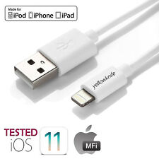 Apple Genuine USB Lightning Sync & Charger Cable Car Charger For iPhone 8 7 6 5