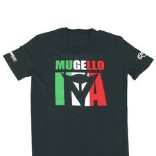 Dainese Mugello D1 Black Motorcycle Motorbike Casual Cotton T-Shirt | All Sizes