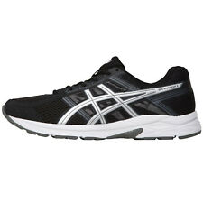 Mens Asics Gel Contend 4 Neutral Running Trainers Breathable Black Various Sizes