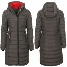 Geographical Norway Damen Winter Mantel Jacke Coat Parka Anorak Steppmantel