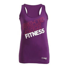 Zumba Dance Fitness Sol Instructor Purple Racerback Tank Shirt - NWT ALL SIZES