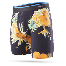 """STANCE MENS BOXER SHORTS.BOXED PARADISO FITTED 7"""" TRUNKS BRIEF COTTON UNDERWEAR"""