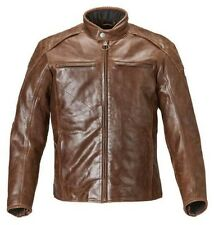 MLHS17105 TRIUMPH LEATHER BARBOUR MOTORCYCLE JACKET