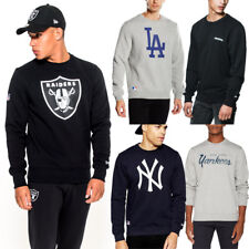 NEW ERA Felpa UOMO Girocollo NEW Mens YANKEES Ny YORK Dodgers RAIDERS Nuova FwAg