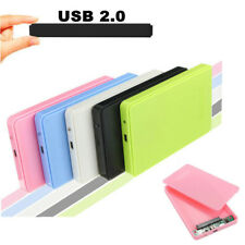 "USB 2.0 External 2.5"" SATA HDD Hard Disk Drive Enclosure Case for PC Laptop"