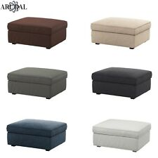 IKEA KIVIK Cover for Footstool with Storage, (Footstool Not Included)