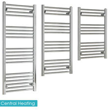 SALE - BUDGET Straight Chrome Heated Towel Rail Warmer Radiator For Bathroom