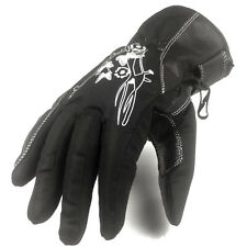 mujer motocicleta impermeable Guantes: Invierno Guantes Talla M