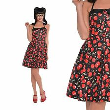 donna anni 50 PIN UP ROCK Jive SWING VINTAGE ROCKABILLY SOTTOVESTE ABITO COSTUME