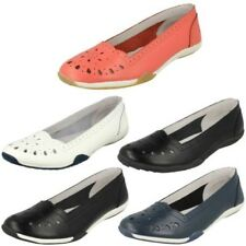 Mujer Down To Earth Sin Cordones Zapatos Informales Planos F80205 - D