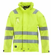 Snickers 1683 High-Vis GORE-TEX Shell Jacket  Class 3 SnickersDirect Yellow Pre