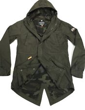 Superdry Rookie Military Hooded Parka Jacket -RRP £129