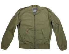 Superdry Green Military Rookie Bomber Jacket