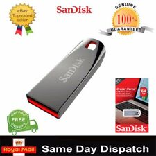 NEW SanDisk 8GB - 64GB CRUZER FORCE USB Flash Drive CZ71 High Speed Memory Stick