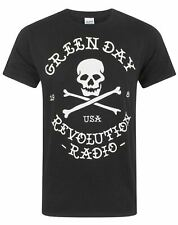 Green Day Revolution Radio Skull Cross Bones Men's T-Shirt